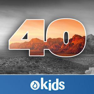 40 Day Bible Challenge (Kid-friendly)